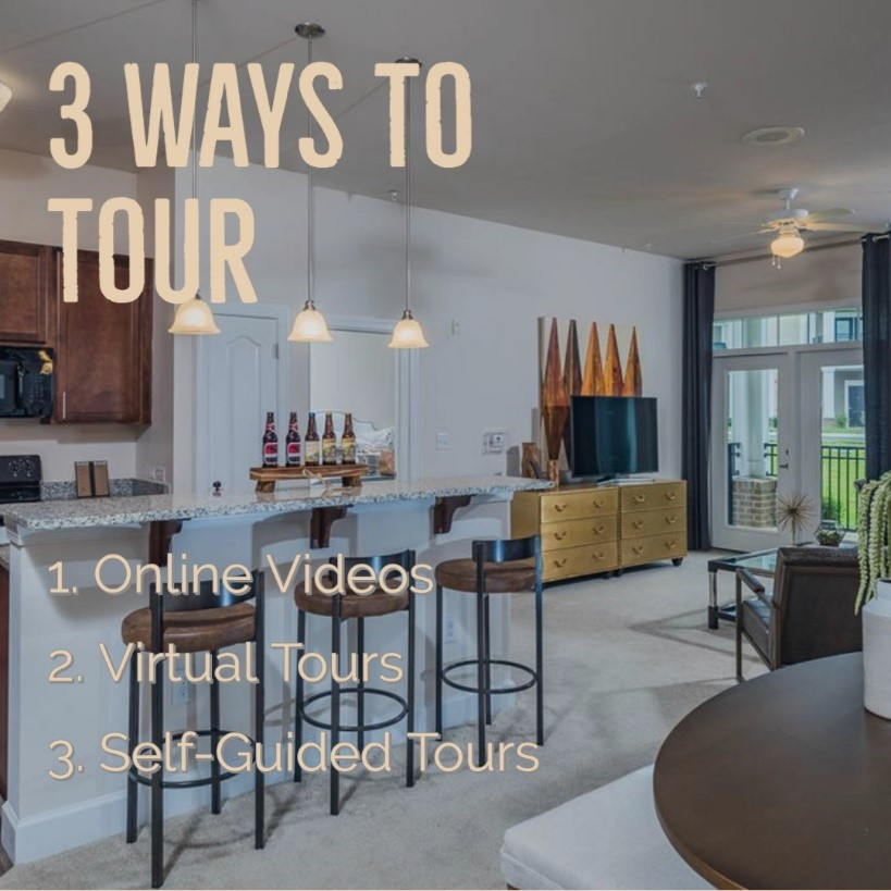 Three Ways To Tour Our Apartments