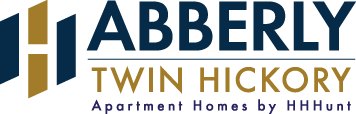 Abberly Twin Hickory Apartment Homes by HHHunt Logo